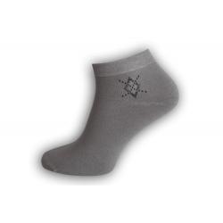 Luxusné bambusové ponožky - sivé