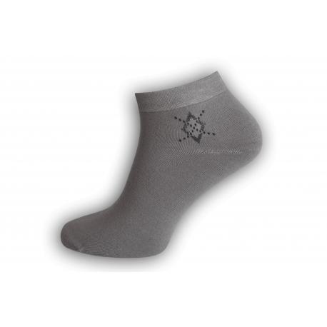 Jedinečné bambusové ponožky - sivé