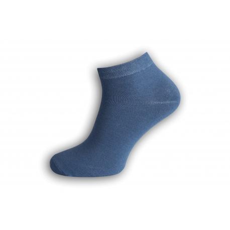 Jedinečné modré bambusové ponožky