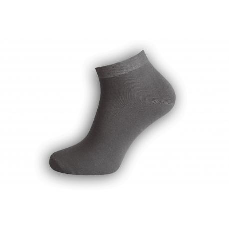 Jedinečné sivé bambusové ponožky