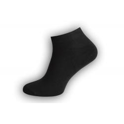 Jedinečné čierne bambusové ponožky