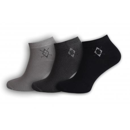 Tri páry prvotriednych ponožiek z bambusu