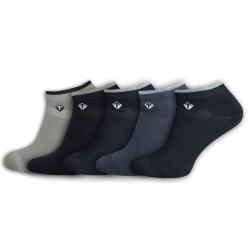 Bambusové pánske ponožky - 5-párov