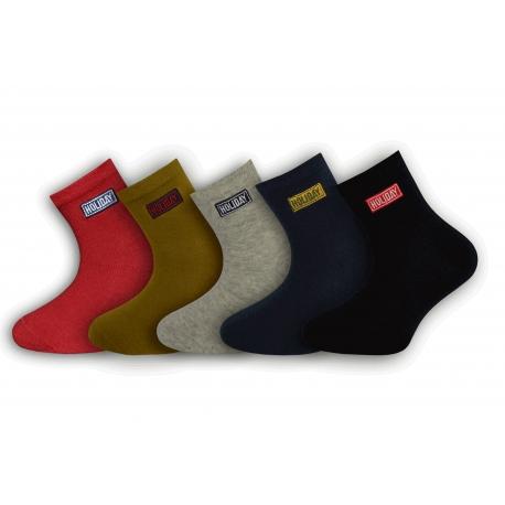 Luxusné chlapčenské ponožky 5-párov