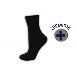Čierne zdravotné pánske ponožky