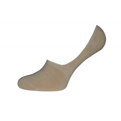Telové bavlnené nízke ponožky
