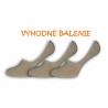 3-páry telových neviditeľných ponožiek
