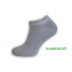 IBA 39-42! Jednofarebné bambusové pánske ponožky