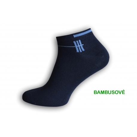 Pánske bambusové kotníkové ponožky