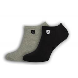 Kotníkové pánske ponožky 2-páry