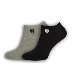 IBA 39-42! Kotníkové pánske ponožky 2-páry