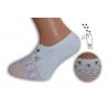 Neviditeľné detské ponožky s mačičkou