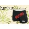 Nadrozmerné bambusové čierne boxerky