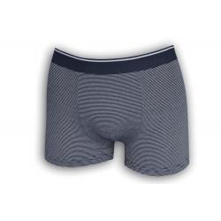 Modré pánske boxerky s pásikmi