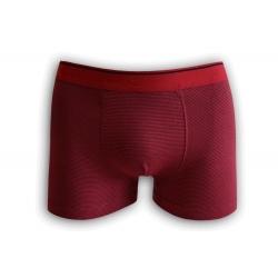 Bordové pánske pásikavé boxerky
