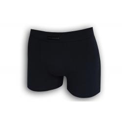 Modré jednofarebné bavlnené boxerky