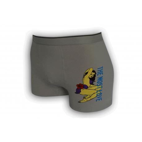Pánske boxerky jednofarebné