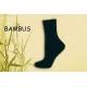 Dámske ponožky bambusové jednofarebné