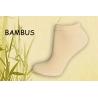 Broskyňové bambusové ponožky