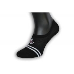 Perforované pánske neviditeľné ponožky