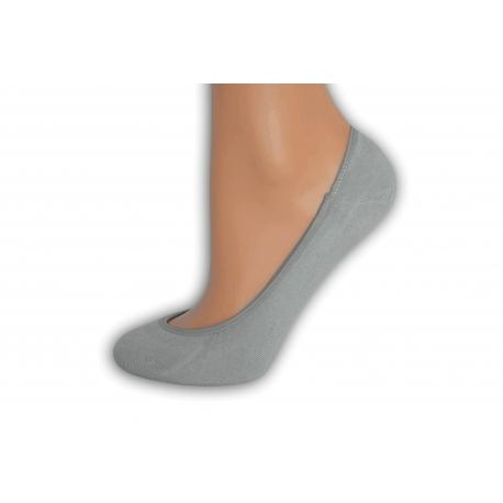 Sivé balerínkové ponožky