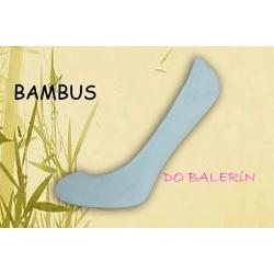 Bledo-modré balerínkové ponožky