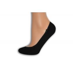 Čierne balerínkové ponožky