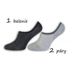 Dva páry bambusových ponožiek