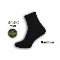Najkvalitnejšie bambusové pánske ponožky – čierne