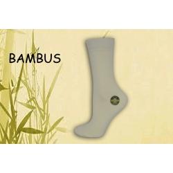 IBA 35-38! Luxusné smotanové bambusové ponožky