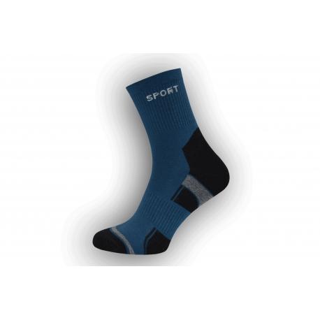 Športové ponožky Dynamic -modré