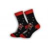 Pánske ponožky s Mikulášmi