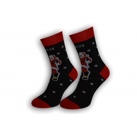 Vtipné pánske vianočné ponožky