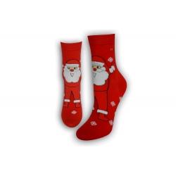 Ponožky ako darček na Mikuláša – červené