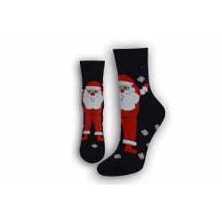 Ponožky ako darček na Mikuláša  - modré