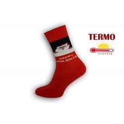 Happy Holydays. Vianočné pánske ponožky