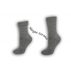 Najteplejšie dámske ponožky do -25 °C - šedé