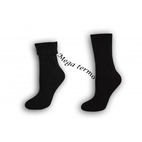 Najteplejšie dámske ponožky do -25 °C –čierne