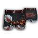 Čierne vianočné boxerky so sobmi