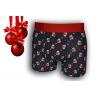 Vianočné kvalitné boxerky s medvedíkmi