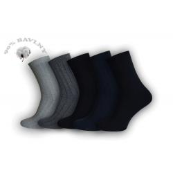 Oblekové pánske  ponožky. 5-balenie