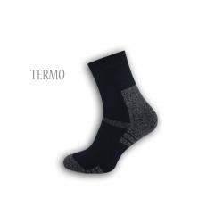 Pánske teplé ponožky - tm.modré