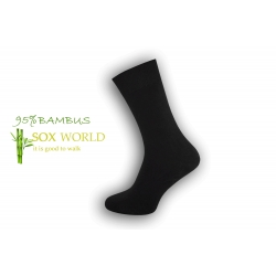 IBA 43-46! Luxusné 95%-né bambusové ponožky - sivé
