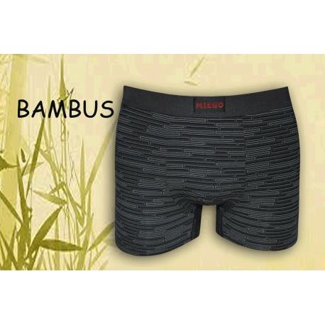 Pánske vzorované extra jemné bambusové boxerky