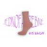 Krásne dámske ružové vysoké ponožky z kvalitného bavlneného vlákna