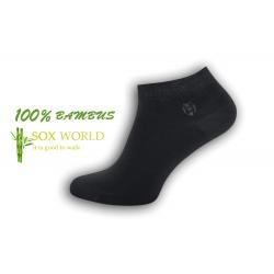 PREMIUM. 100%-né bambusové sivé ponožky
