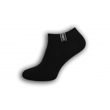 Komfortné pánske krátko ponožky  - čierne