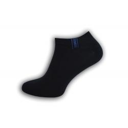 Komfortné pánske krátko ponožky - modré