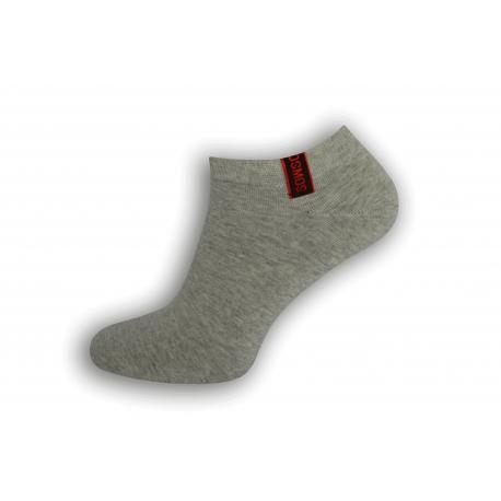 Komfortné pánske krátko ponožky - sivé