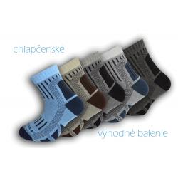 Detské trekové ponožky - 5-balenie